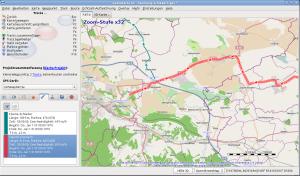 Tracks und Wegpunkte bearbeiten mit QLandkarte GT